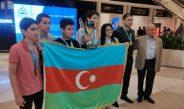Olimpiadanın qalibi olan Azərbaycan şahmatçıları Vətənə qayıtdı
