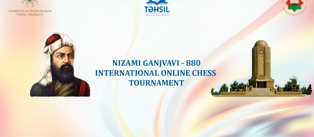 """""""Nizami Ganjavi – 880"""" beynəlxalq onlayn şahmat turniri keçiriləcək"""