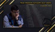 Abasov Nicatla xeyriyyə məqsədli eynivaxtlı oyun seansı
